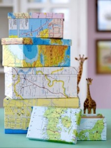 (Map Boxes from www.DIYCandy.com)