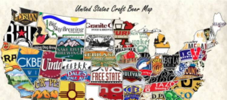 Travel the Country like Never Before on the US Craft Beer Map