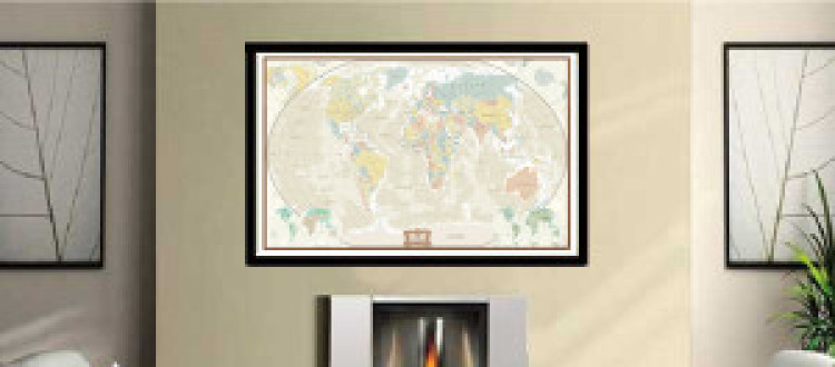 10 Crafty Ways to Decorate with Maps!