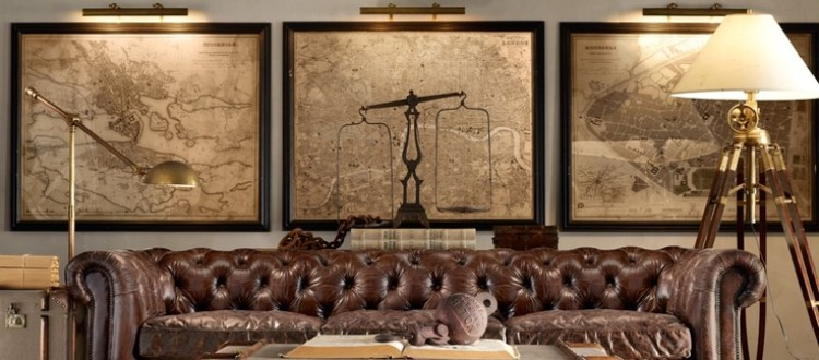 Creating the Ultimate Mancave with Historical Battlefield Maps